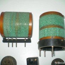 Radios antiguas: 7 X ANTIGUAS BOBINAS DE RADIO DE LOS AÑOS 20-LOTE 4. Lote 112378191