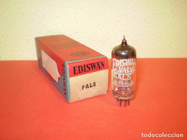 VALVULA 6AL5-EAA91-EDISWAN-NOS/NIB-TUBE. (Radios, Gramófonos, Grabadoras y Otros - Repuestos y Lámparas a Válvulas)