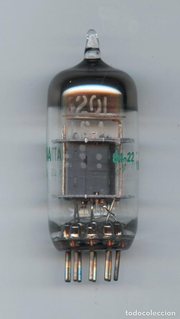 Radios antiguas: 6201 - GENERAL ELECTRIC VALVULA ( ELECTRONIC TUBE ) ( NOS ) TESTED - Foto 1 - 112459535