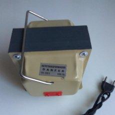 Radios antiguas: TRANSFORMADOR ELECTRICO DANFER. Lote 114716963