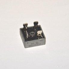 Radios antiguas: PUENTE RECTIFICADOR DE 400V - 10A. Lote 116730667