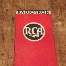 Radios antiguas: LÁMPARA PARA RADIO. Lote 116846071