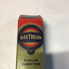 Radios antiguas: LÁMPARA RADIO RAYTHEON. Lote 118006816