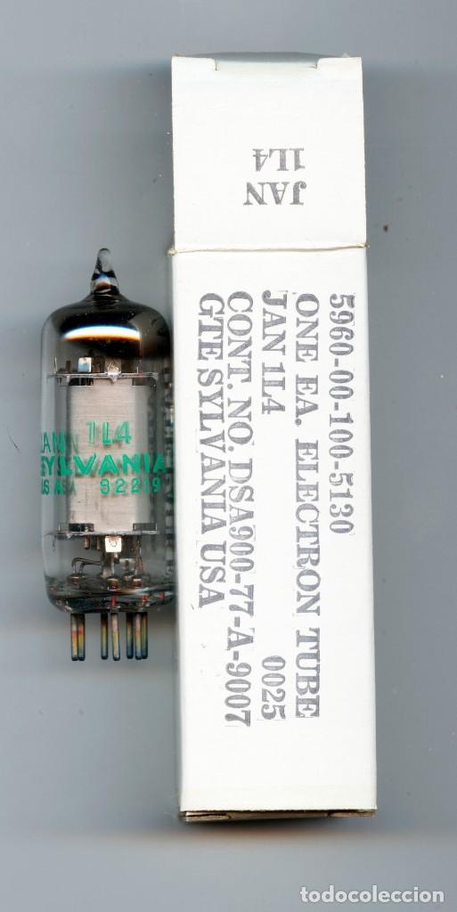 1L4 - DF92 SYLVANIA VALVULAS ( ELECTRONIC TUBES ) UNIDAD (Radios, Gramófonos, Grabadoras y Otros - Repuestos y Lámparas a Válvulas)