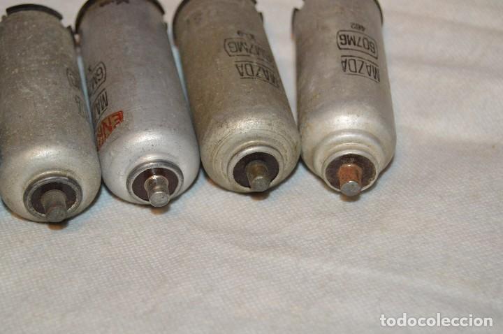 Radios antiguas: ANTIGUO Y VINTAGE - LOTE DE 6 VÁLVULAS - MAZDA - 6M7MG / 607MG / EF55 - HAZME UNA OFERTA - Foto 8 - 119232815