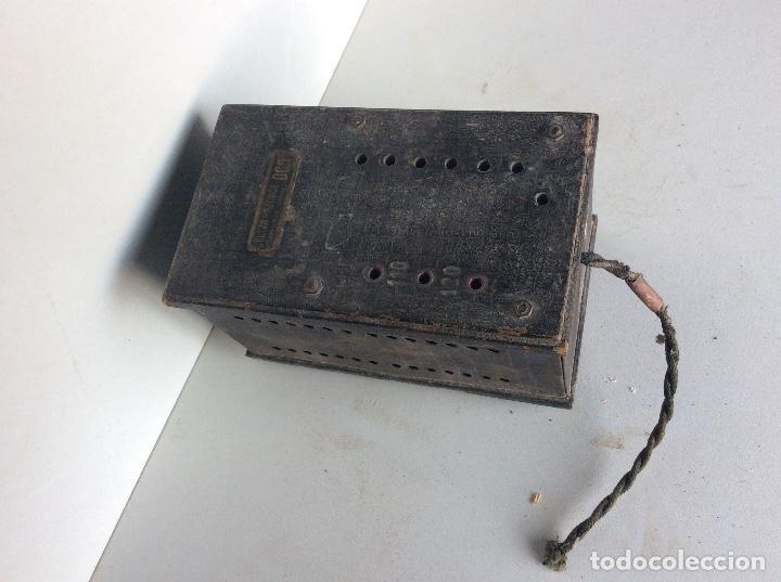 VOLTÍMETRO REGULADOR DE CORRIENTE PARA RADIOS ANTIGUAS (Radios, Gramófonos, Grabadoras y Otros - Repuestos y Lámparas a Válvulas)