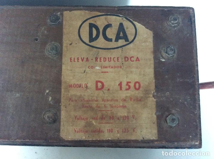 Radios antiguas: Voltímetro regulador de corriente para radios antiguas - Foto 3 - 120788999