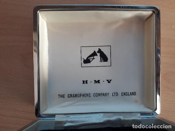 Radios antiguas: CAJA H.M.V- THE GRAMOPHONE COMPANY LTD-ENGLAND - Foto 5 - 121441251