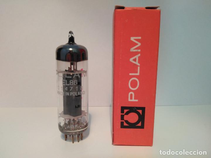 VALVULA NUEVA EL86 - 6CW5 POLAM (Radios, Gramófonos, Grabadoras y Otros - Repuestos y Lámparas a Válvulas)