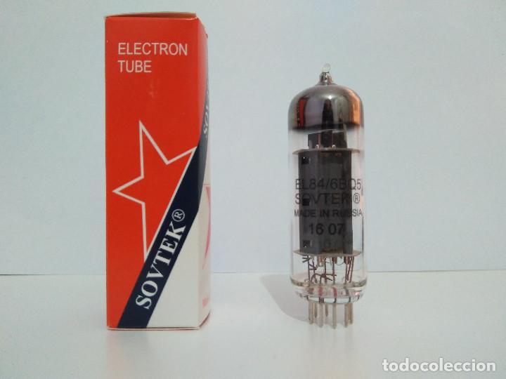 VÁLVULA NUEVA EL84 - 6BQ5 SOVTEK (Radios, Gramófonos, Grabadoras y Otros - Repuestos y Lámparas a Válvulas)