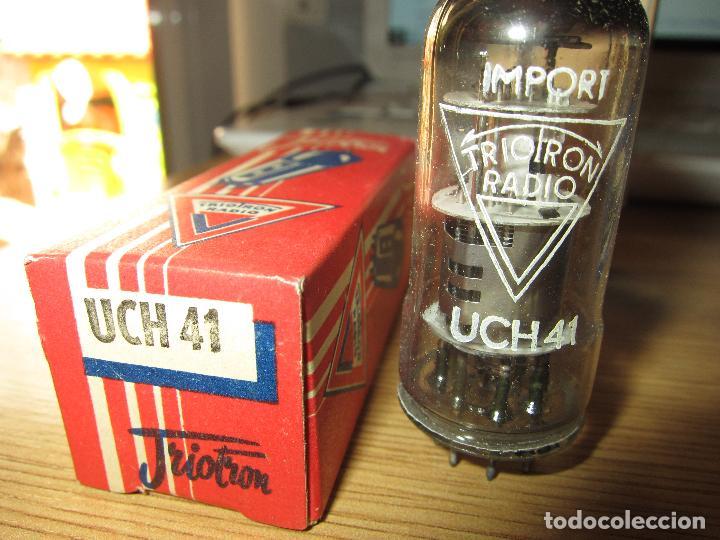 VALVULA UCH41 NUEVA (Radios, Gramófonos, Grabadoras y Otros - Repuestos y Lámparas a Válvulas)