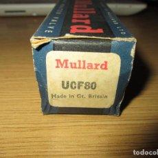 Radios antiguas: VALVULA UCF80 NUEVA. Lote 130186399