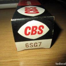 Radios antiguas: VALVULA 6SG7 NUEVA. Lote 130252542