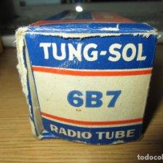 Radios antiguas: VALVULA 6B7 NUEVA. Lote 228063520