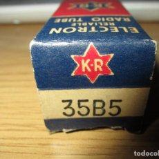 Radios antiguas: VALVULA 35B5 NUEVA. Lote 130311298