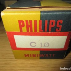 Radios antiguas: VALVULA C10 NUEVA. Lote 130311446