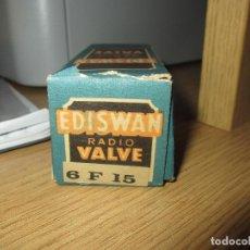 Radios antiguas: VALVULA 6F15 NUEVA. Lote 130333886
