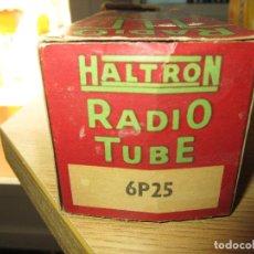 Radios antiguas: VALVULA 6P25=CV1853=EL33=6M6 NUEVA. Lote 156722178