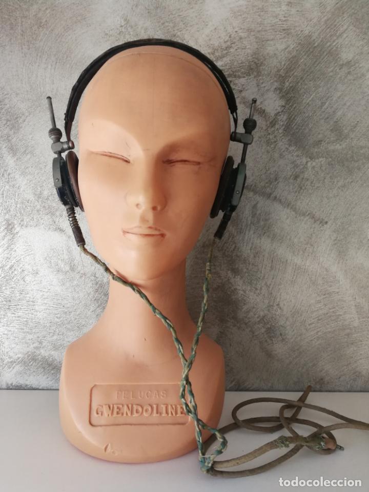 ANTIGUOS AURICULARES TELEFUNKEN (Radios, Gramófonos, Grabadoras y Otros - Repuestos y Lámparas a Válvulas)