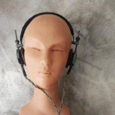 Radios antiguas: ANTIGUOS AURICULARES TELEFUNKEN . Lote 130596094