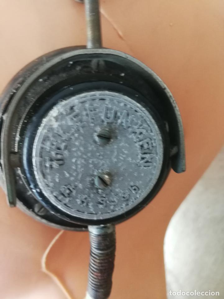 Radios antiguas: ANTIGUOS AURICULARES TELEFUNKEN - Foto 4 - 130596094