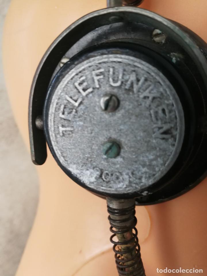 Radios antiguas: ANTIGUOS AURICULARES TELEFUNKEN - Foto 5 - 130596094