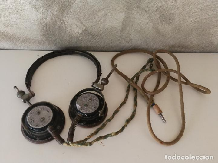 Radios antiguas: ANTIGUOS AURICULARES TELEFUNKEN - Foto 8 - 130596094
