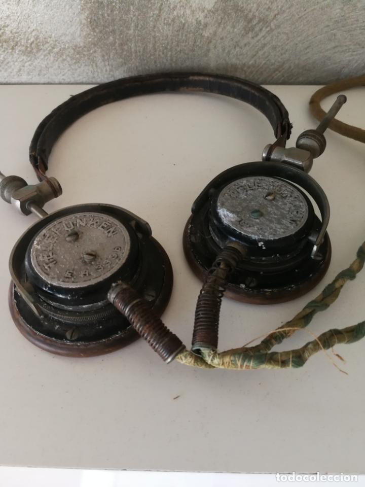 Radios antiguas: ANTIGUOS AURICULARES TELEFUNKEN - Foto 12 - 130596094