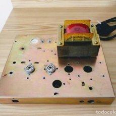 Radios antiguas: TRANSFORMADOR DE ALIMENTACIÓN CON CHASIS. Lote 131033052