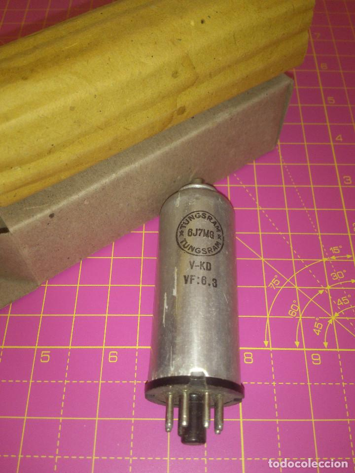 1 UNIDAD VÁLVULA 6J7MG - 6J7 MG - TUNGSRAM - PROBADA (Radios, Gramófonos, Grabadoras y Otros - Repuestos y Lámparas a Válvulas)