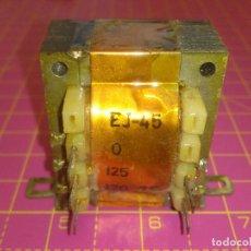 Radios antiguas: 1 UNIDAD TRANSFORMADOR PRIMARIO 125V 220V - SECUNDARIO 7,5V - NOS - COMPROBADO OK. Lote 132572838
