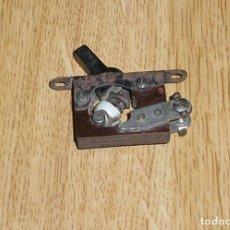 Radios antiguas: INTERRUPTOR PARA RADIO DE VALVULAS.. Lote 133504242