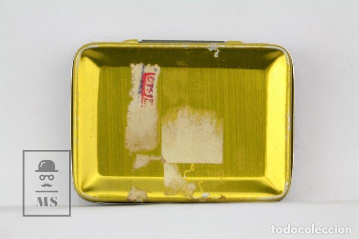 Radios antiguas: Caja Metálica De Agujas Gramófono - Gamma Needles - Ref. 43 - Made In Swiss / Suiza - Con Agujas - Foto 3 - 134735670