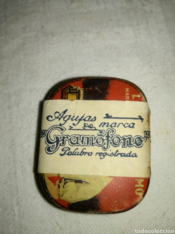 Radios antiguas: Caja de agujas gramófono La voz de su amo, sin utilizar - Foto 5 - 137883234