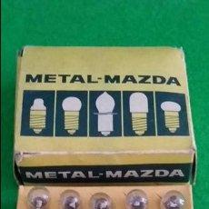 Radios antiguas: DIAL RADIO CAJA CON 20 LAMPARAS METAL MAZA 12V 0,10A E-10 D-116. Lote 139447886