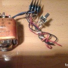 Radios antiguas: ANTIGUO TRANSFORMADOR SANYO CON PUENTE RECTIFICADOR. Lote 140152058