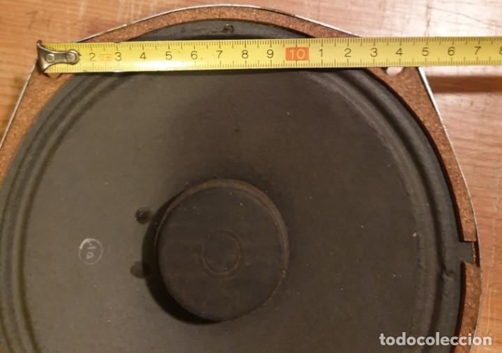 Radios antiguas: Altavoz de radio Antiguo - 20 cm - Foto 6 - 48416078