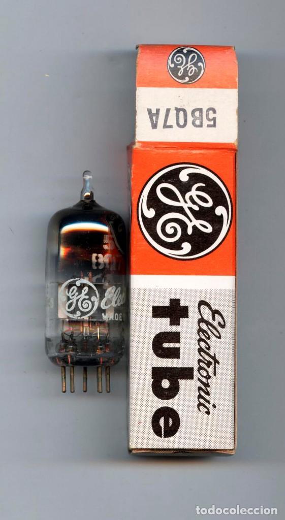 5BQ7A - GENERAL ELECTRIC - VALVULA ( ELECTRONIC TUBE ) UNIDAD (Radios, Gramófonos, Grabadoras y Otros - Repuestos y Lámparas a Válvulas)