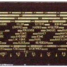 Radios antiguas: CRISTAL DE DIAL PARA RADIO A VÁLVULAS RADIOLA RA487A. Lote 143616346