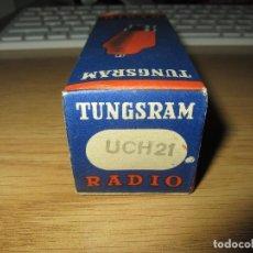 Radios antiguas: VALVULA UCH21 NUEVA. Lote 143930150