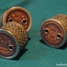 Radios antiguas: REDUCTORES - RALO Y RADIO AFICIONADO. Lote 144135650