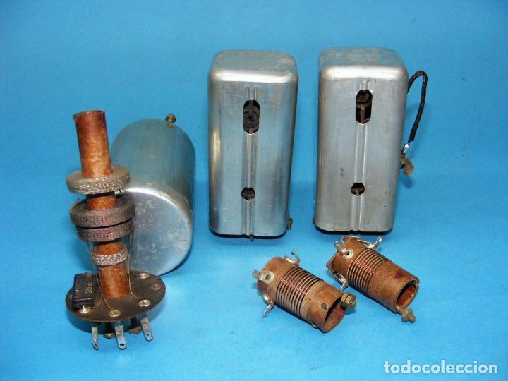 BOBINAS DE F.I. Y ANTENA (AM) PARA RADIO A VÁLVULAS. (Radios, Gramófonos, Grabadoras y Otros - Repuestos y Lámparas a Válvulas)