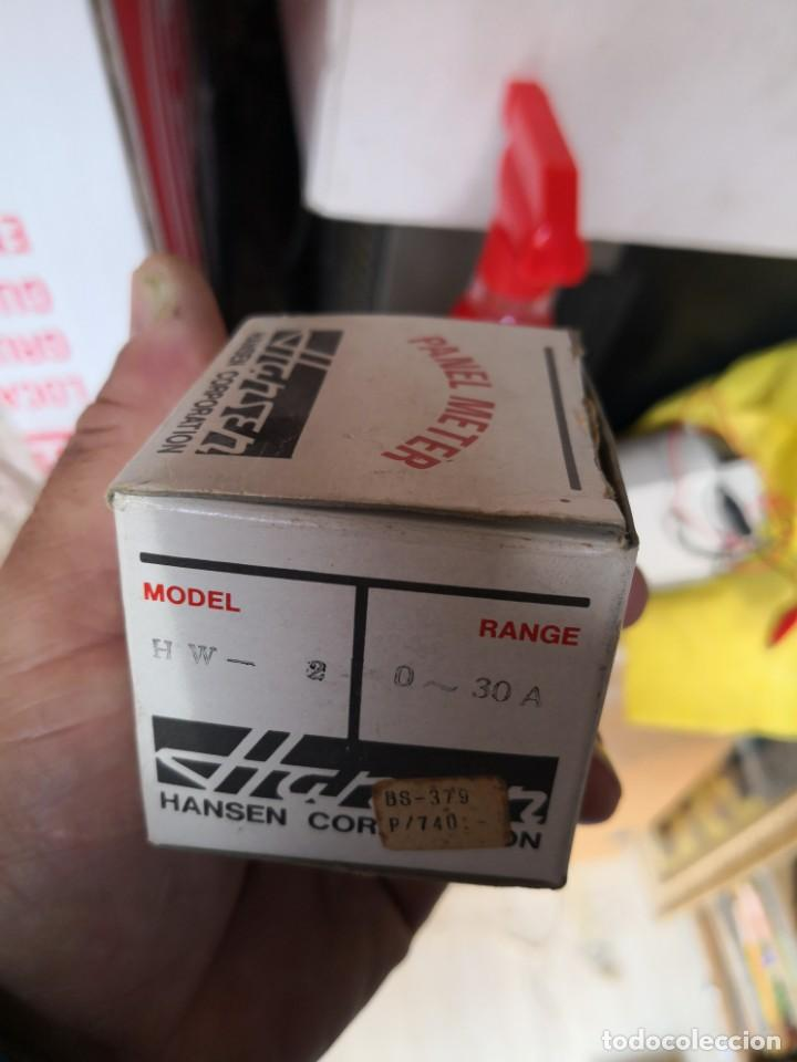 Radios antiguas: Panel meter HANSEN MODELO HW-2 RANGO 0-30V EN SU CAJA NUEVO - Foto 2 - 147165186