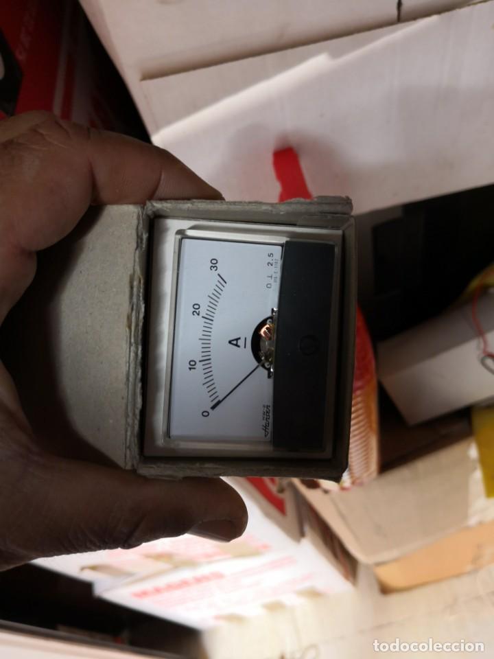 Radios antiguas: Panel meter HANSEN MODELO HW-2 RANGO 0-30V EN SU CAJA NUEVO - Foto 3 - 147165186
