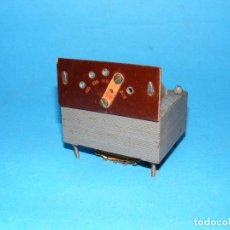 Radios antiguas: TRANSFORMADOR DE ALIMENTACIÓN PARA RADIO A VÁLVULAS. Lote 148221042