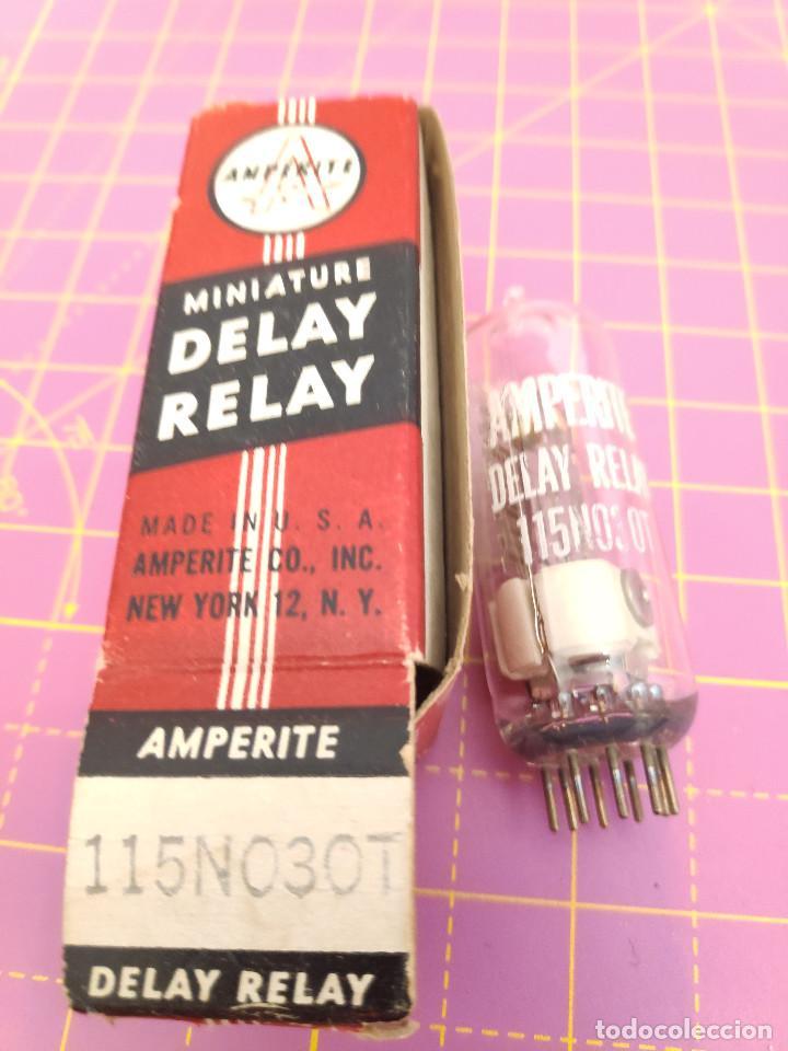 1 UNIDAD DE MINIATURE DELAY RELAY 115NO30T - AMPERITE - NOS (Radios, Gramófonos, Grabadoras y Otros - Repuestos y Lámparas a Válvulas)