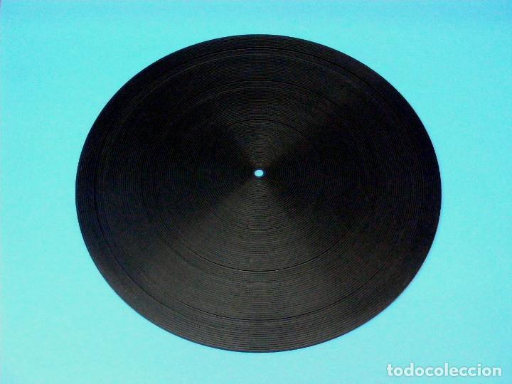 GOMA PLATO TOCADISCOS 29 CMS. (Radios, Gramófonos, Grabadoras y Otros - Repuestos y Lámparas a Válvulas)