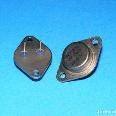 Radios antiguas: 2 TRANSISTORES BDX63B - NOS. Lote 151430806