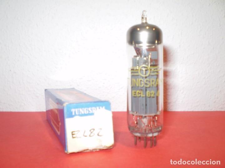 VALVULA ECL82-TUNGSRAM- NUEVA. (Radios, Gramófonos, Grabadoras y Otros - Repuestos y Lámparas a Válvulas)
