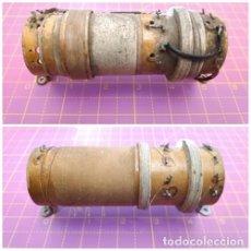 Radios antiguas - Lote de 2 bobinas grandes de radio - 153103022